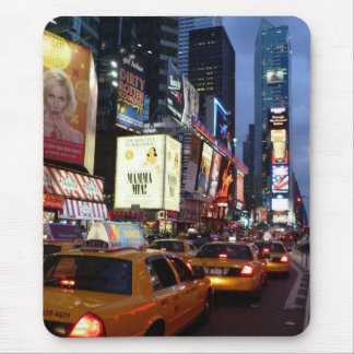 Mousepad Táxis quadrados do tempo