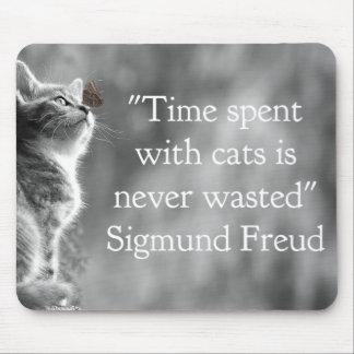 Mousepad Tempo passado com gatos…
