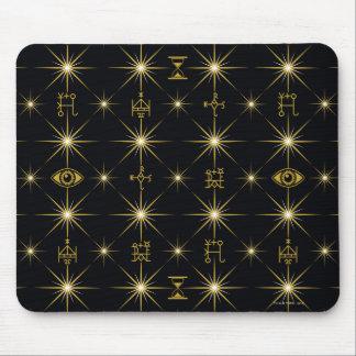 Mousepad Teste padrão mágico dos símbolos