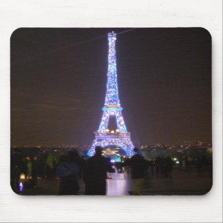 Mousepad Torre Eiffel de Paris na noite