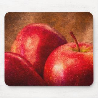 Mousepad Três maçãs vermelhas