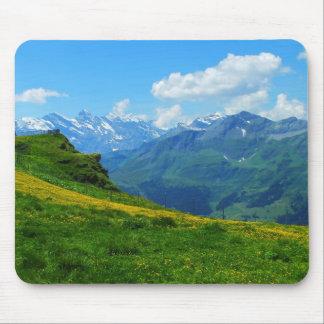 Mousepad Vista alpina na suiça