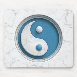 Mousepad Yin de mármore Yang