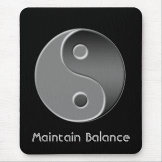 Mousepad yin-Yang, mantem o equilíbrio