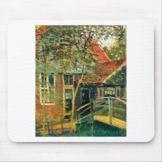 Mousepad Zaandam, pouca ponte por Claude Monet
