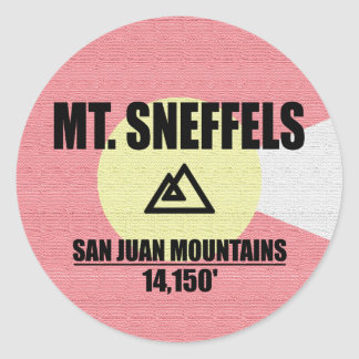 Mt. Sneffels Adesivo