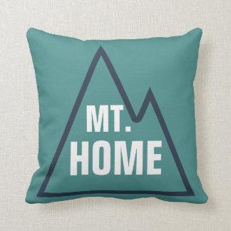 Mt. Travesseiro frente e verso Home Almofada