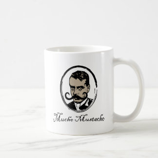 Mucho Mustacho - Zapata Caneca De Café