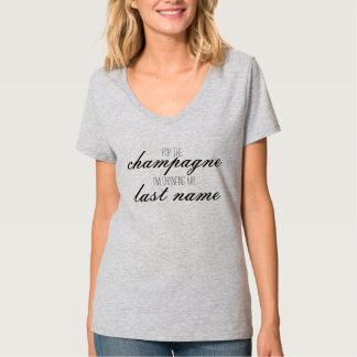 mudando meu sobrenome t-shirt
