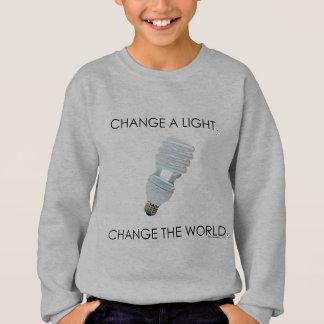 Mude camisas da luz de bulbo