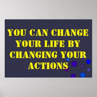 Mude seu poster da vida