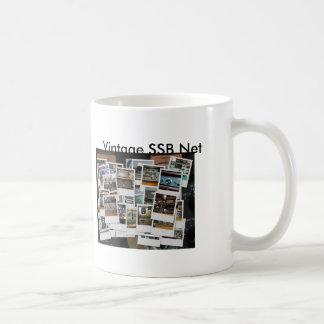 mug_collage, mug_gkzcollage, rede do vintage SSB, Caneca De Café