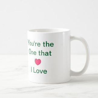 """#Mug do #Coffee do """"#Love"""" Caneca"""