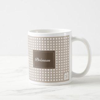 Mug limpa com jacto de areia personalizar - mim caneca de café