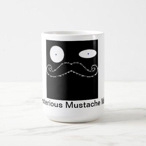 mug'en o bigode caneca
