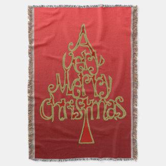 Muito uma árvore do Feliz Natal Coberta