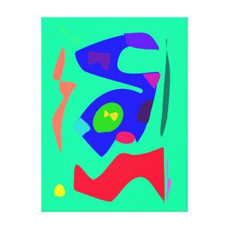 Muitos que abençoam as variações alegres modernas  impressão de canvas esticada