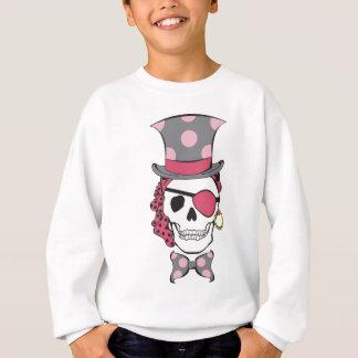 Mulberry do crânio do pirata do noivo tshirts