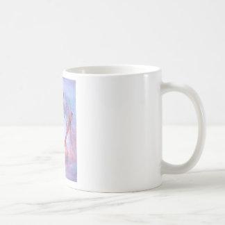 mulher da medicina caneca de café