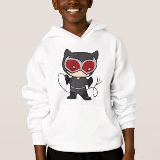 Mulher-gato frente e verso de Chibi T-shirt