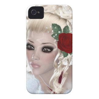 Mulher loura capas de iPhone 4 Case-Mate