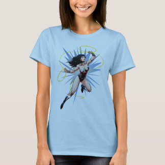 Mulher maravilha & laço da verdade t-shirts