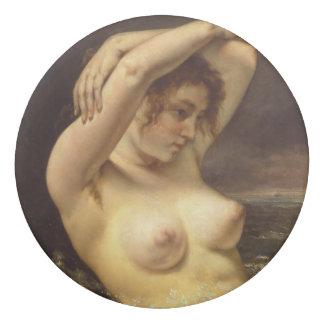 Mulher nas ondas por Gustave Courbet Borracha
