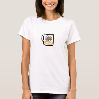 Mulheres 2014 do rastejamento de N. Bosque Casa Camiseta
