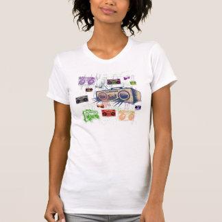 Mulheres de Boomboxes Camiseta
