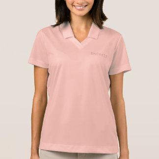 Mulheres do pólo de Nike T-shirt Polo