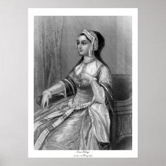 Mulheres históricas - Anne Boleyn Poster