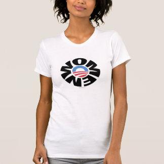 Mulheres para o Tshirt de Obama