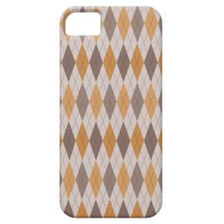 Multi na moda retro de Argyle Capa Barely There Para iPhone 5