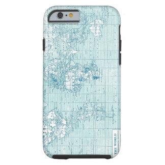Mundo azul legal - coleção capa tough para iPhone 6