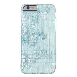 Mundo azul legal - coleção capa iPhone 6 barely there