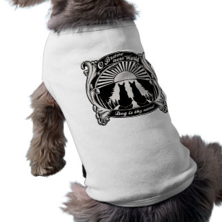 Mundo novo bravo de O Camisa Sem Mangas Para Cachorro