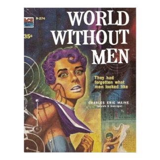 Mundo sem homens papel timbrado