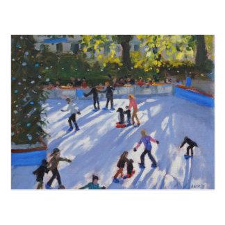 Museu 2014 da história natural do patinagem no cartão postal