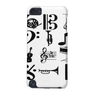 Música 1 capa para iPod touch 5G
