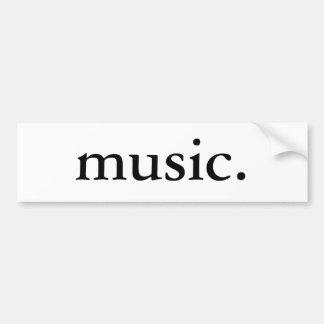 Música Adesivo Para Carro
