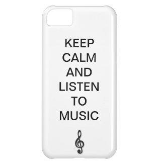 música capa para iPhone 5C