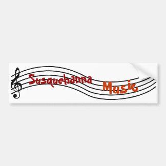 Música de Susquehanna Adesivo Para Carro