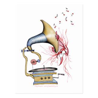 música do gato do jazz, fernandes tony cartão postal