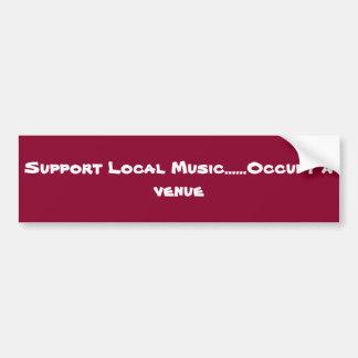 Música do Local do apoio Adesivo Para Carro