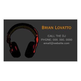 música eletrônica personalizada do DJ Cartão De Visita