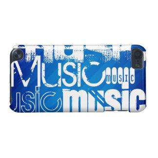 Música; Listras de azuis marinhos