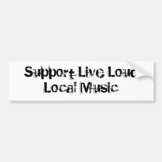 Música local alta viva do apoio adesivo para carro