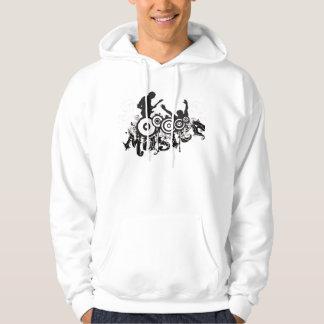 MUSICA MOLETOM COM CAPUZ