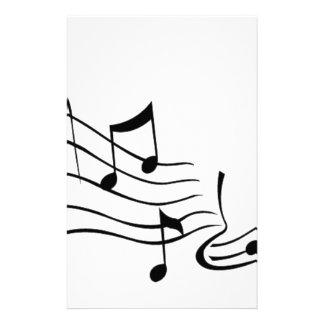Música (Music) Papelaria