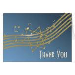 Música no obrigado que do ar você nota cartão